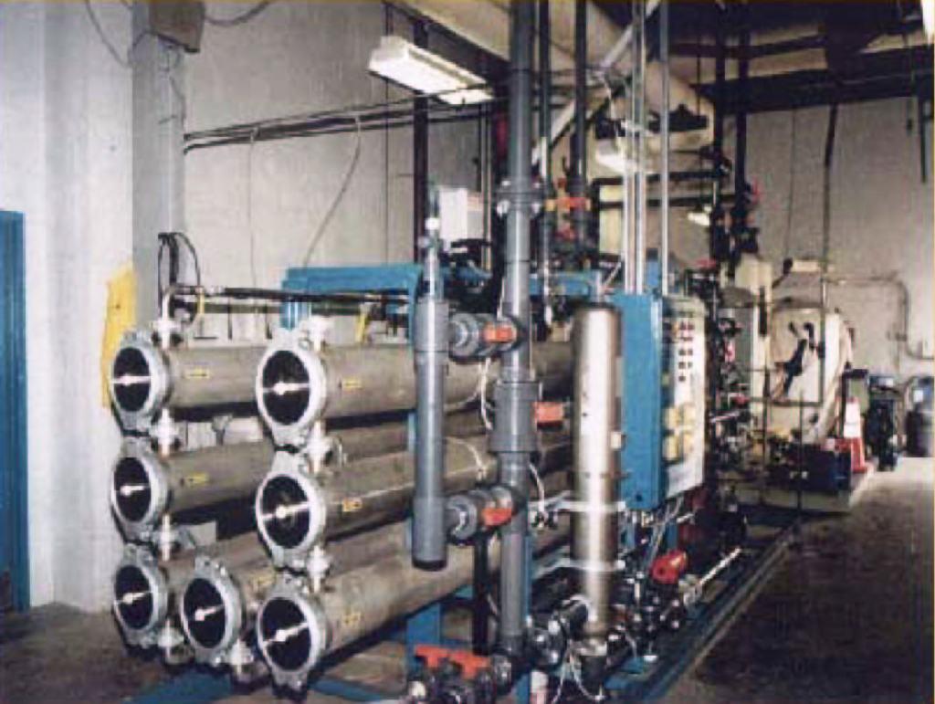 120 GPM Reverse Osmosis