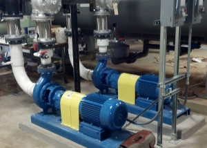Two 20hp pumps