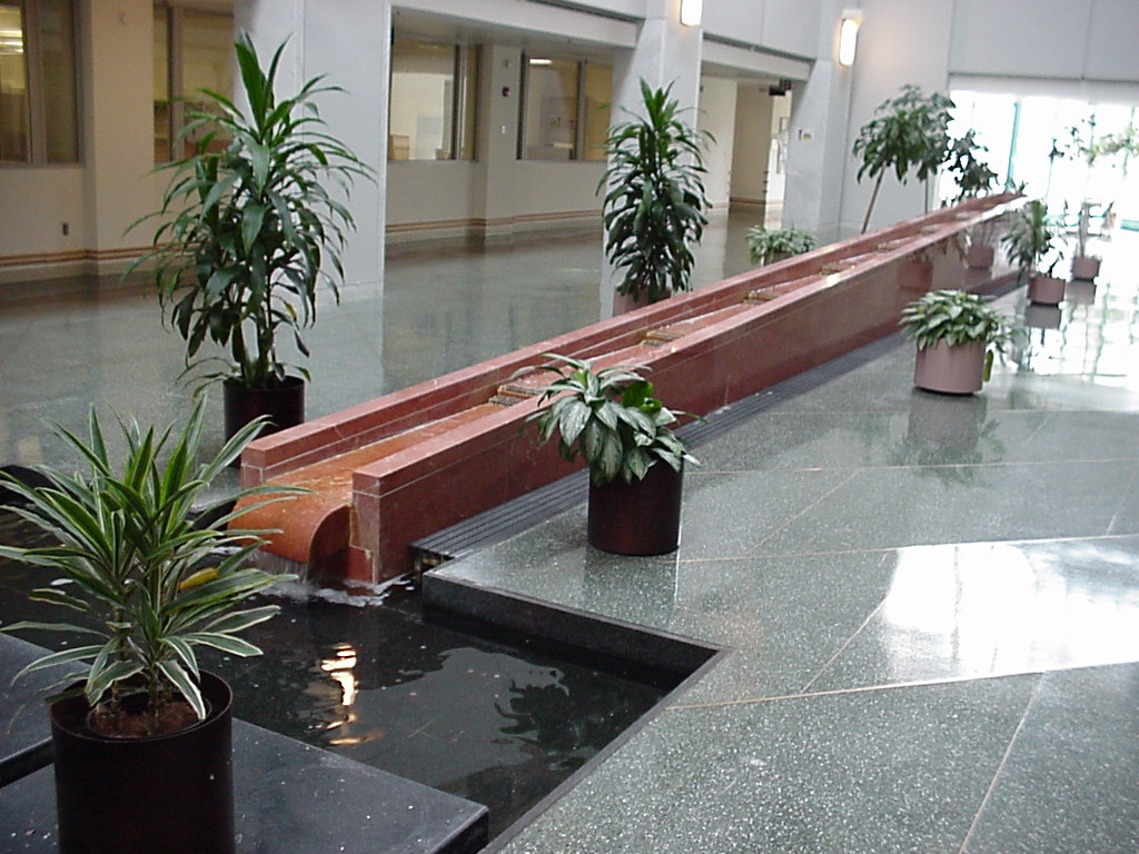 Merck Lobby Fountain